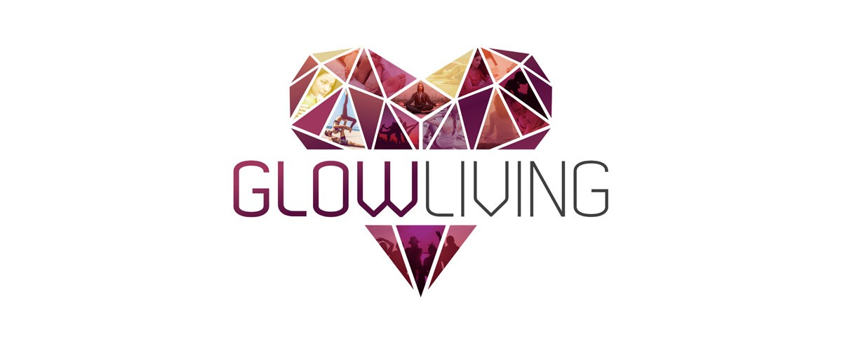 Glow Living Logo for Coaching and Personal Development